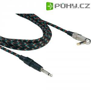 Instrumentální retro kabel JACK 6,3 mm Paccs, 6 m, více barev