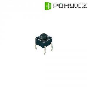 Tlačítko, T602, 24 V/DC, 0,05 A, vyp./(zap.), černá