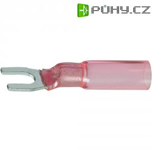 Izolovaná kabelová vidlice, M5, 0.5 - 1.5 mm², červená