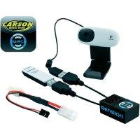 RC souprava pro smartphony s videomodulem Carson WiRC, 8 kanálů