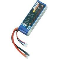Akupack Li-Pol (modelářství) Conrad energy, 11.1 V, 2200 mAh, 40 C, otevřené kabelové koncovky