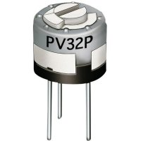 Odporový trimr Murata Cermet, PV32P101A01B00, 100 Ω, 0,5 W, ± 20 %