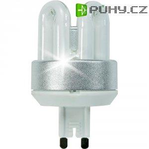 Úsporná žárovka trubková Megaman CFL 827i GU9, 9 W, super teplá bílá