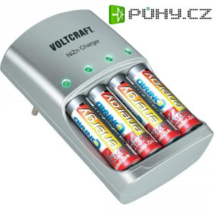 Nabíječka akumulátorů Voltcraft NiZn + 4 x AA + 4 xAAA