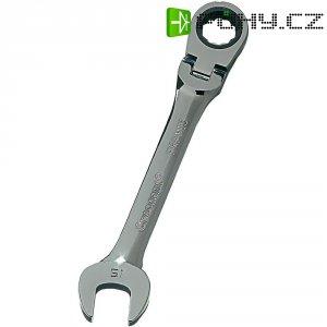 Ráčnový klíč s kloubovou hlavou 180° Crescent FRPM15, 15 mm