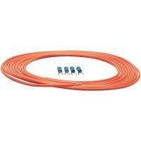 Sada napájecího kabelu a zástrček Sinus Live, 0,75 mm², červená