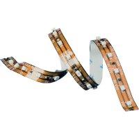 LED pás ohebný samolepicí 12VDC, 168 mm, jantarová