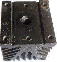 Chladič ČKD A100 100x100x100mm, eloxovaný hliník