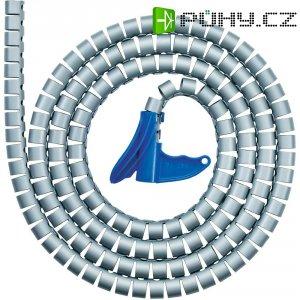 Organizér kabelů, HellermannTyton HWPP-16MM-PP-SR-K1, 2 m