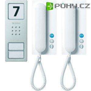 Domovní telefon Siedle, SET CA 812-2 BS/W, 2 rodiny, bílá