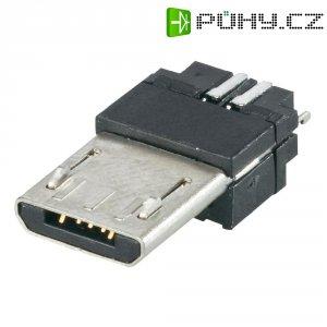 Micro USB konektor 5pól. Typ B BKL Electronic 10120261, zástrčka rovná