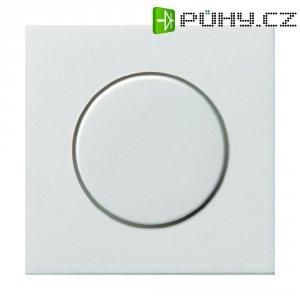 Stmívací kolečko do rámečku Gira, krytka, standard 55, čistě bílá (0650112)