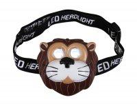 Svítilna čelová LED lev