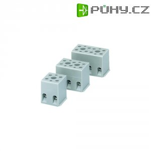 Svorka Phoenix Contact, 2716033, 4 - 4 mm², 3pólová, šedá