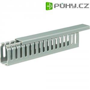 Elektroinstalační lišta, 25x45 mm, 2 m, šedá