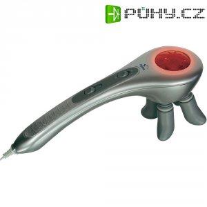Infračervený masážní přístroj Hydas Shiatsu KX-206 A, 18,5 W, stříbrná