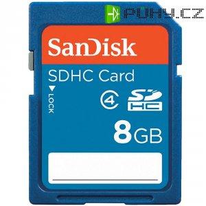 Paměťová karta SDHC SanDisk, 8 GB, třída 4