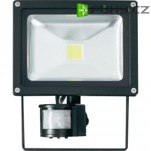 Venkovní LED reflektor s detektorem pohybu PIR, 20 W, studená bílá