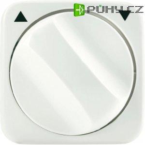 Kryt stmívače s otočným knoflíkem Busch-Jaeger, 2542 DR-212, krémově bílá