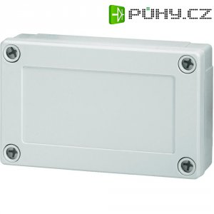 Polykarbonátové pouzdro MNX Fibox, (d x š x v) 130 x 80 x 35 mm, šedá (MNX PC 100/35 LG)
