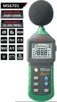 Hlukoměr 30-130dB MASTECH MS6701, USB