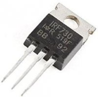 IRF730 N MOSFET 400V/5,5A 100W TO220