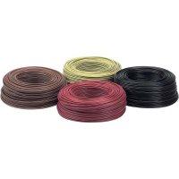 Kabel (licna), LappKabel, H07V-K, 1 x 1,5 mm², černá, 100 m