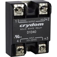 El. zátěžové relé s DC výstupem série 1-DC Crydom, D1D12, 12 A