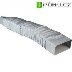 Flexibilní plochý kanál Wallair, 220 x 90 mm, bílá