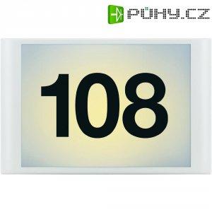 LED osvětlení domovního čísla se soumrakovým senzorem GEV LLH 636, 1 W, bílá