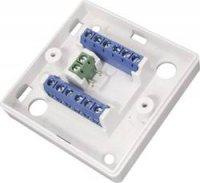 Rozbočovací krabice se svorkovnicí, Abus VT5101W, bílá