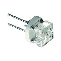 LED žárovka 12V G4 60° - teplebílá
