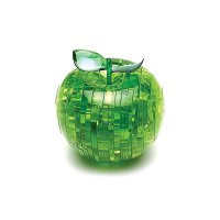 Hlavolam 3D krystal puzzle Jablko