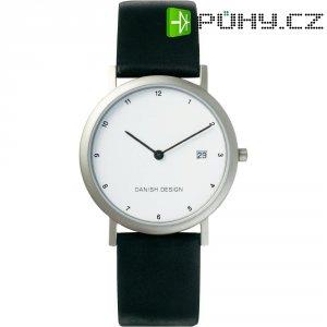 Ručičkové náramkové hodinky Danish Design, 3316140, kožený pásek