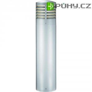 Venkovní sloupové svítidlo Sygonix Ploumeur, 80 cm, stříbrná/šedá