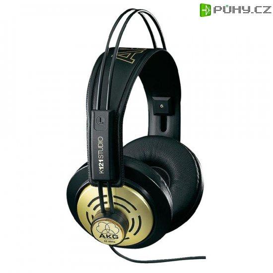 Studiové sluchátka AKG Harman K 121 Studio AKGK121Studio, černá, zlatá - Kliknutím na obrázek zavřete