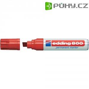 Trvanlivý popisovač Edding 800, červená