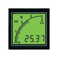 DC voltmetr s bargrafem Trumeter APMDCV72-TG, 6 - 300 V/DC