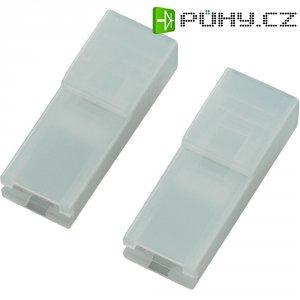 Izolační objímka 01017-6,3, 6,3 mm, PA 6.6, transparentní