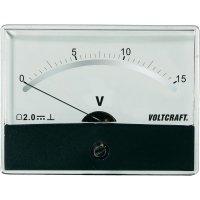 Analogové panelové měřidlo VOLTCRAFT AM-86X65/15V/DC 15 V