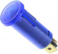 Kontrolka 12V modrá, průměr 12,5mm