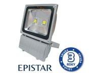 LED reflektor venkovní 100W/8000lm EPISTAR, MCOB, AC 230V, STUDENÁ, šedý