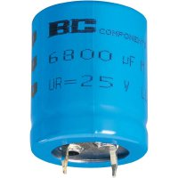 Snap In kondenzátor elektrolytický Vishay 2222 056 54103, 10000 µF, 10 V, 20 %, 30 x 22 mm