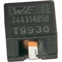 SMD vysokoproudá cívka Würth Elektronik HCI 744314850, 8,5 µH, 4 A, 7050