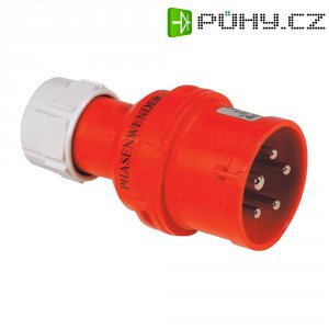 CEE fázový měnič PCE, 16 A, IP44, červená