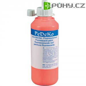 Červená UV zářící barva Eiko 590616, 250 ml