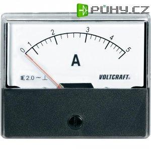 Analogové panelové měřidlo VOLTCRAFT AM-70X60/5A 5 A