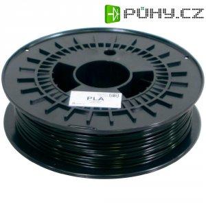 Náplň pro 3D tiskárnu, German RepRap 100009, PLA, 3 mm, 750 g, černá