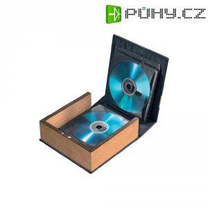 CD/Foto album hnědá kůže (matná) 28 CD/DVD (š x v x h) 163 x 170 x 63 mm Hama