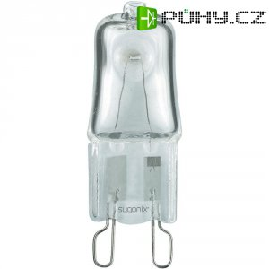 Halogenová žárovka Sygonix, G9, 18 W, stmívatelná, teplá bílá